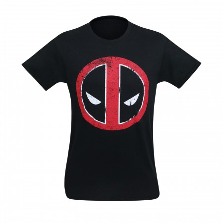 Deadpool Distressed Symbol T-Shirt