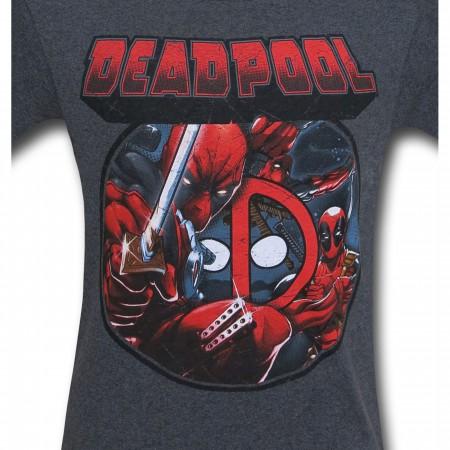 Deadpool Image Circle T-Shirt