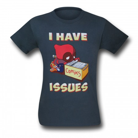 Deadpool Has Issues T-Shirt