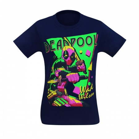Deadpool It's A Party 80's Style Men's T-Shirt