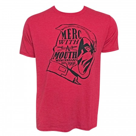 Deadpool Merc With A Mouth Established 1991 Men's T-Shirt