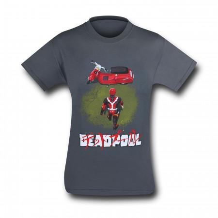 Deadpool Neo Akira Men's T-Shirt