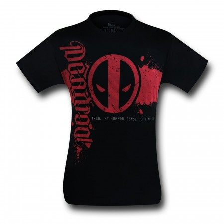 Deadpool Red Chapter Ambigram T-Shirt