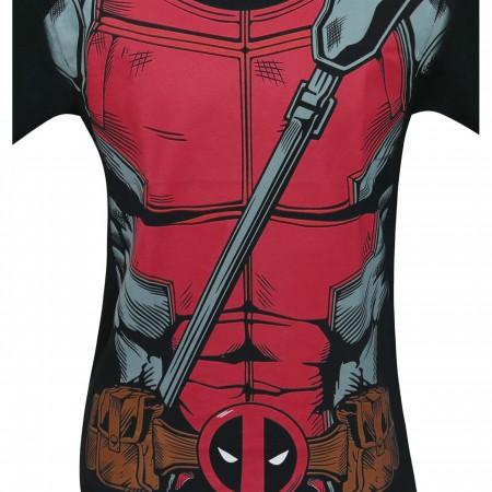 Deadpool Suit-Up Men's Costume T-Shirt