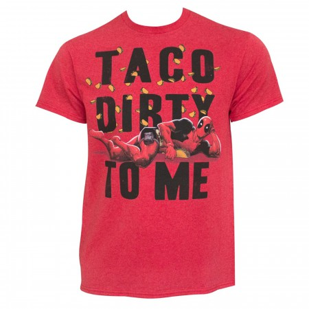 Deadpool Taco Dirty To Me Men's T-Shirt