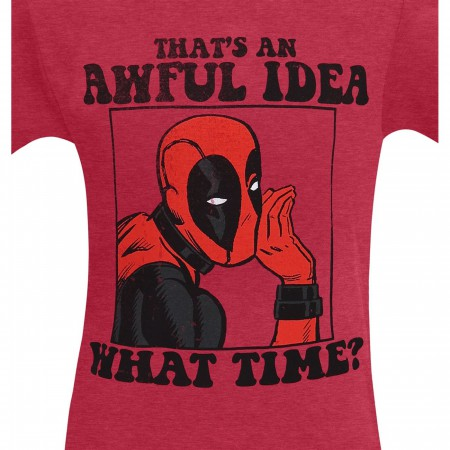 Deadpool That's An Awful Idea Men's T-Shirt