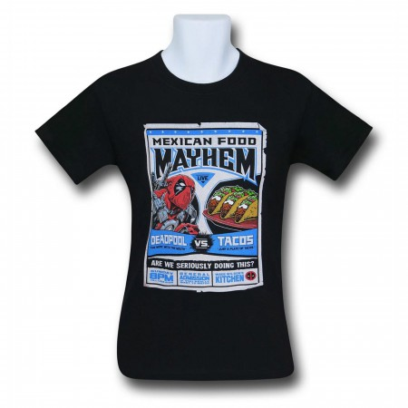 Deadpool Vs Tacos Men's T-Shirt