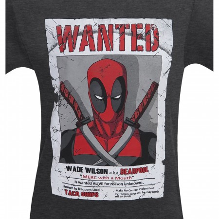Deadpool Wade Wilson Wanted Men's T-Shirt