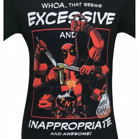 Deadpool Whoa That Seems Excessive Men's T-Shirt