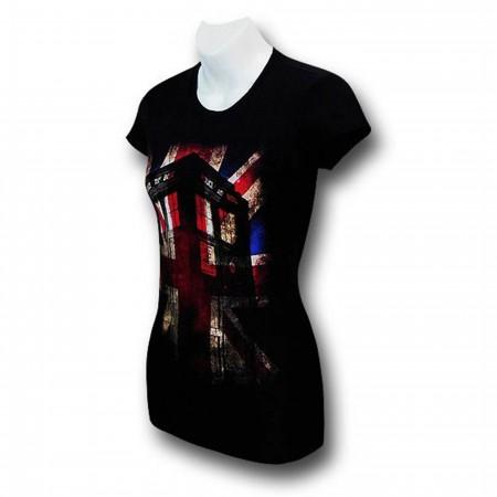 Doctor Who Union Jack Women's T-Shirt