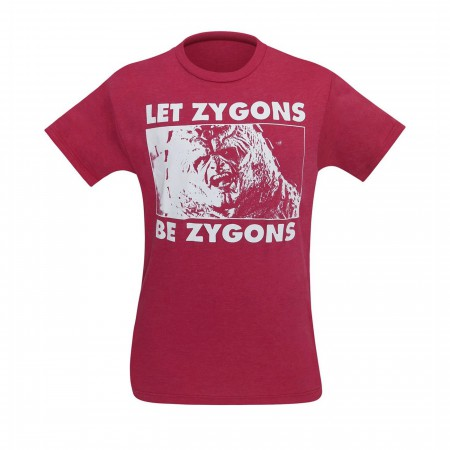 Dr. Who Let Zygons Be Zygons Men's T-Shirt