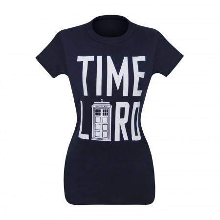 Dr. Who Time Lord Women's T-Shirt