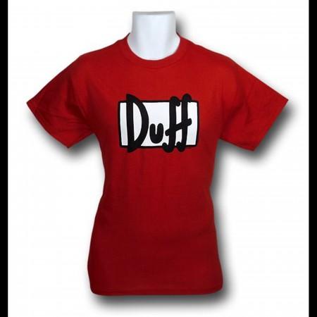 Simpsons Duff Beer T-Shirt