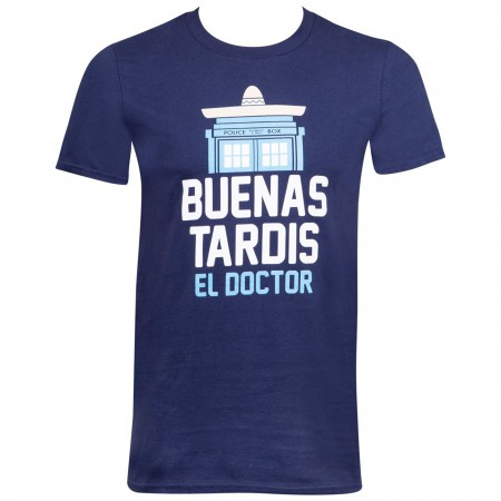 Buenas Tardis El Doctor Men's T-Shirt