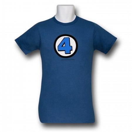 Fantastic Four Symbol (30 Single) T-Shirt
