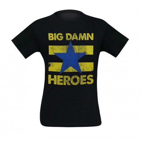 Firefly Big Damn Heroes Men's T-Shirt