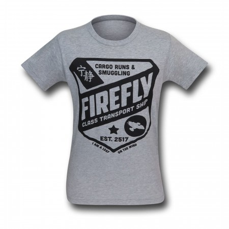 Firefly Class Transport Ship Men's T-Shirt