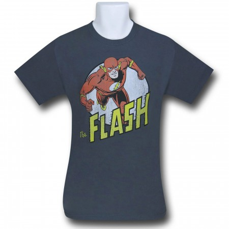 The Flash Distressed Run Circle T-Shirt
