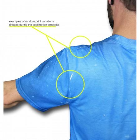 Flash I Am Sublimated Men's T-Shirt