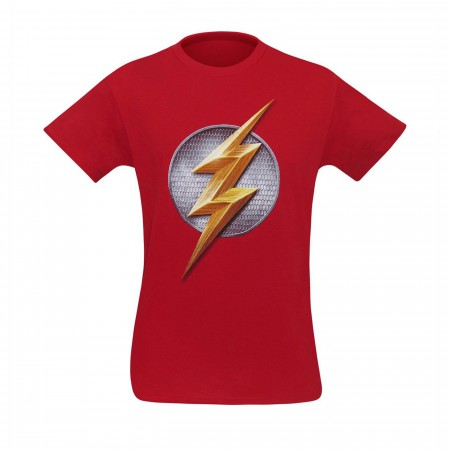 Justice League Movie Flash Symbol Men's T-Shirt
