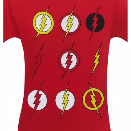 Flash Multi Symbols Men's T-Shirt