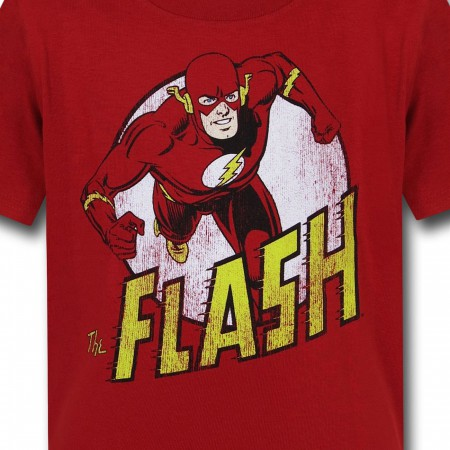Flash Distressed Run Kids T-Shirt