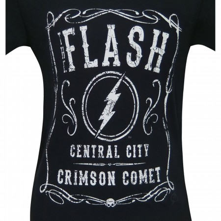 The Flash Crimson Comet Central City Men's T-Shirt