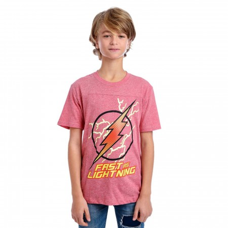 Flash Fast As Lightning Kids T-Shirt
