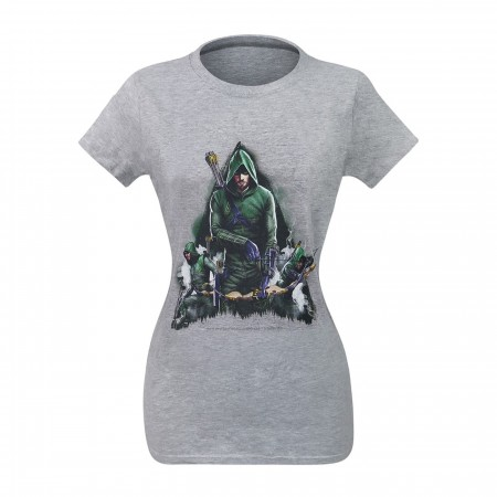 Arrow Oliver Queen Armed Women's T-Shirt