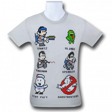 Ghostbusters 8-Bit 30 Single T-Shirt