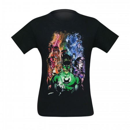 Green Lantern Blackest Night Group T-Shirt