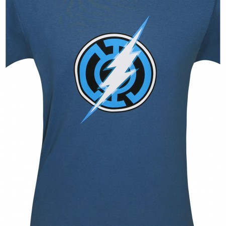 Blue Lantern Flash Symbol T-Shirt