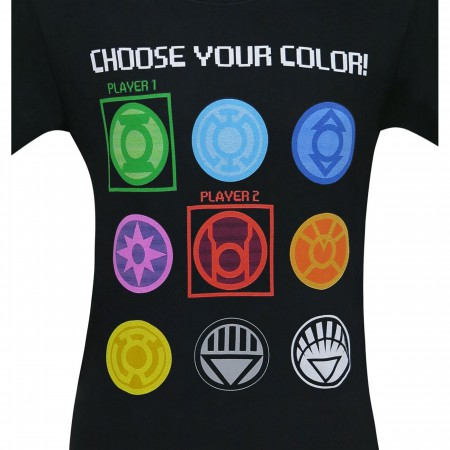 Green Lantern Choose Your Color Men's T-Shirt