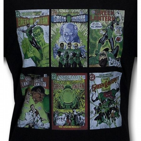 Green Lantern Classic Covers T-Shirt
