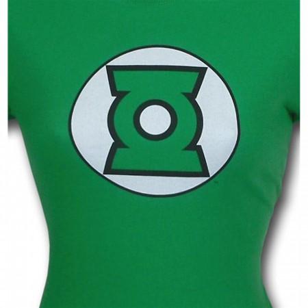 Green Lantern Women's Modern Symbol T-Shirt