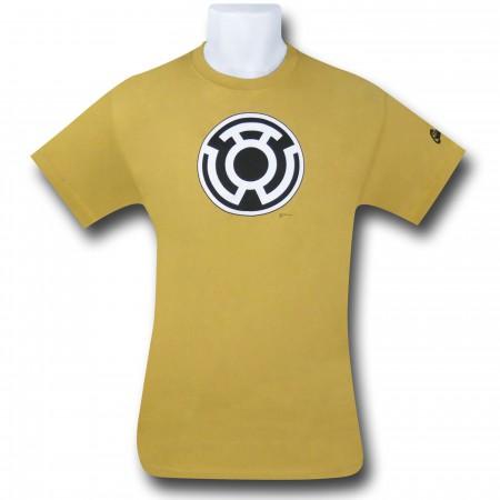 Green Lantern Sinestro Corps Yellow T-Shirt