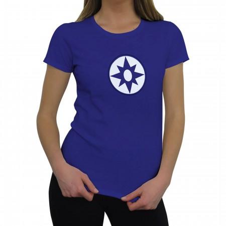 Green Lantern Star Sapphire Symbol Women's T-Shirt