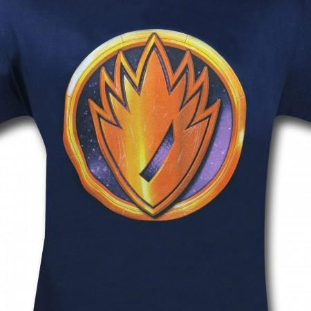 Guardians Rocket Symbol 30 Single T-Shirt