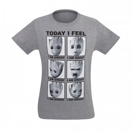 GOTG Vol. 2 Groot Today I Feel Like Men's T-Shirt