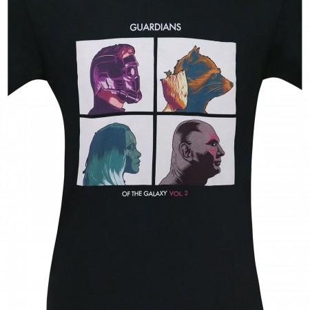 Guardians of the Galaxy Album Profiles Men's T-Shirt