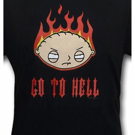 Family Guy Stewie Go To Hell T-Shirt