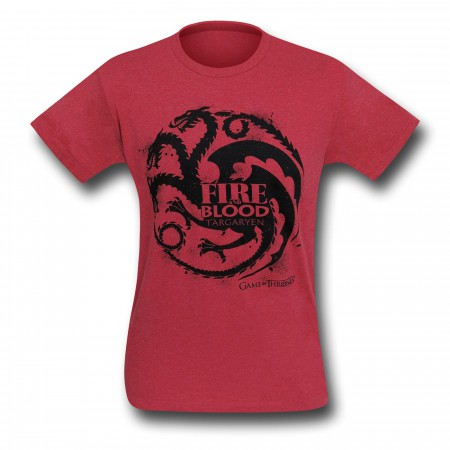 Game of Thrones Targaryen Fire & Blood T-Shirt