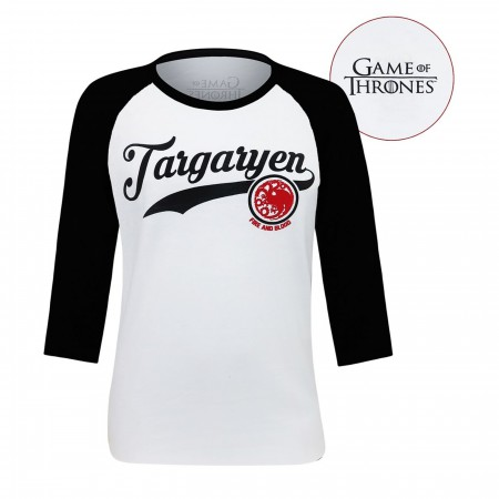Game of Throne Targaryen Men's Baseball T-Shirt