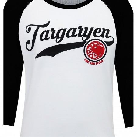 Game of Throne Targaryen Men's Baseball T-Shirt