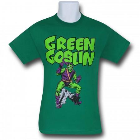 Green Goblin Glider Green T-Shirt