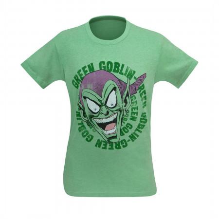 Green Goblin Laughing Green T-Shirt