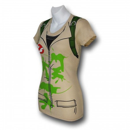 Ghostbusters Juniors Fitteded Costume T-Shirt