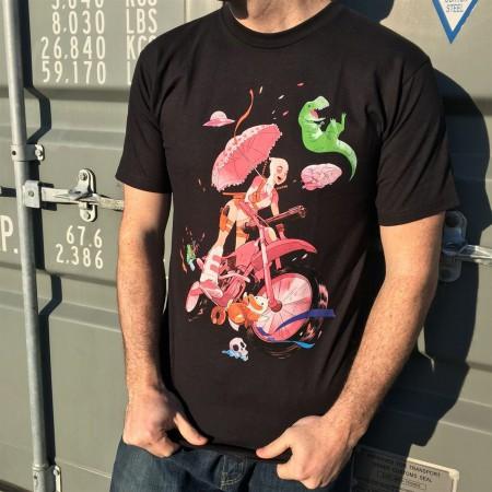 Gwenpool Extreme Biker Men's T-Shirt