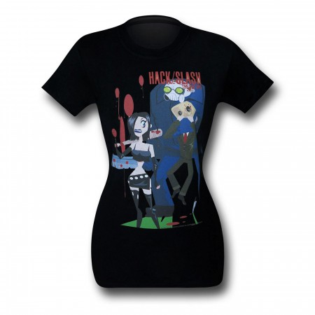 Hack Slash Pin Ups Women's T-Shirt