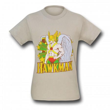 Hawkman Stars Tan T-Shirt